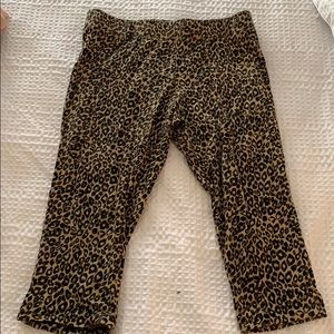 Express cheetah legging